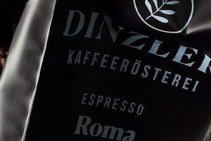 Spezialitäten der Kaffeerösterei DINZLER von fresh-Catering